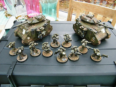 40k space marines raptor chapter army pro painted forgeworld parts