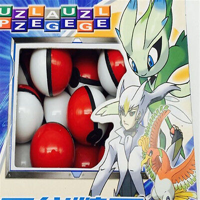 NEW-36× Pokemon Ball with Anime Action Figure Mini Pocket Monster Game Toy Gift