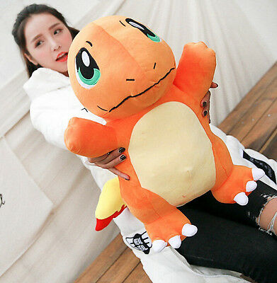 2016 NEW Pokemon Go Charmander Plush Soft Teddy Stuffed Dolls Kids Toy 50CM