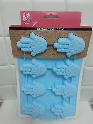 Hamsa  NEW Soap Mold Silicone Mould For Cake Candy Chocolate Baking