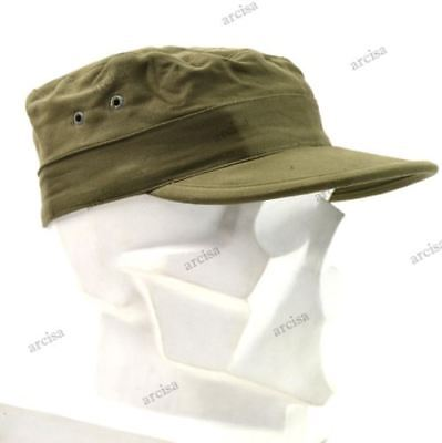 Genuine Holland Dutch Army Military Fatigue Cap Olive green NEW