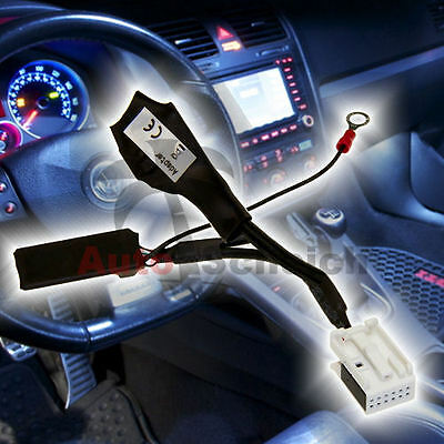 AUX IN Bluetooth Cable Adaptador VW RCD 200 210 300 310 500 510 MFD2 RNS DVD