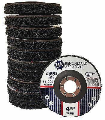4 1/2'' x 7/8'' Paint  Rust Stripping Cup Wheel - 10 pack