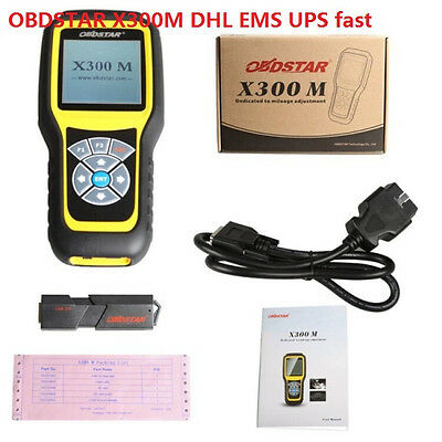 NEW OBDSTAR X300M Special  Adjustment and OBDII Correction Tool express ship