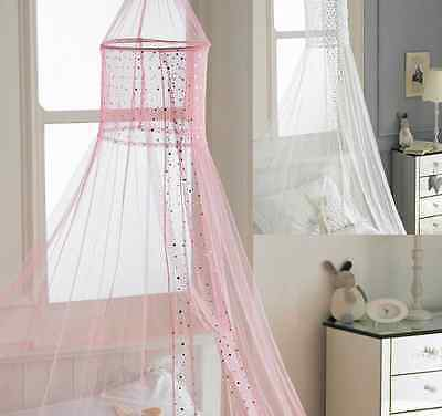 Bed canopy childrens kids girls tulle netting insect net