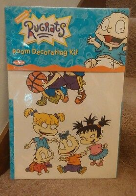 Rugrats ~2003 Nickelodeon Room Decorating Kit~ Large Wall Decals* New In Package