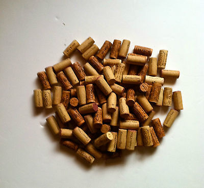 Wine Corks 100  Natural  & Synthetic Wine Corks Lot Great for Crafts, & More