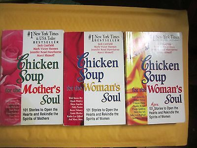 Lot of 7 Chicken Soup Series Large Trade Size Paperbacks
