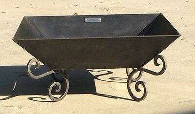 """26"""" Fire Pit, Solid Steel Wood Stove Usa Campfire, Outdoor Pit Fprf02B"""