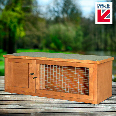 """Guinea Pig 32"""" Treated Hutch home 81cm fully assembled"""