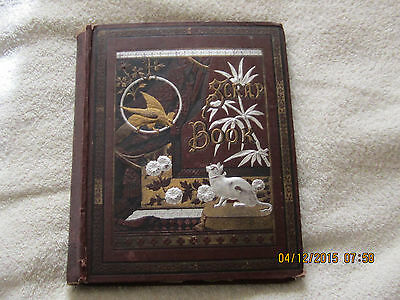 1880's Mark Twain Scrap Book by Daniel Slote & Co., 56 pages and loose newspaper