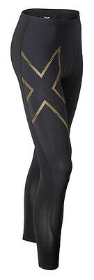 2XU Herren Laufhose Elite MCS Compression Tights Schwarz / MA3062b-0004