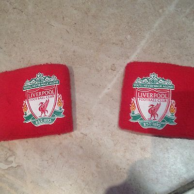 Liverpool FC authentic Crest Sweatbands VGC