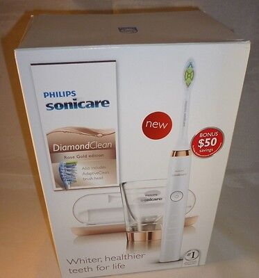 Philips Sonicare Diamond Clean Rose Gold Edition Model HX9392/0 NEW SEALED BOX