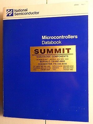 1988 National Semiconductor Microcontrollers Databook Rev 1