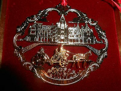 1995 Biltmore Estate Horse & Carriage Centennial Ornament in Box