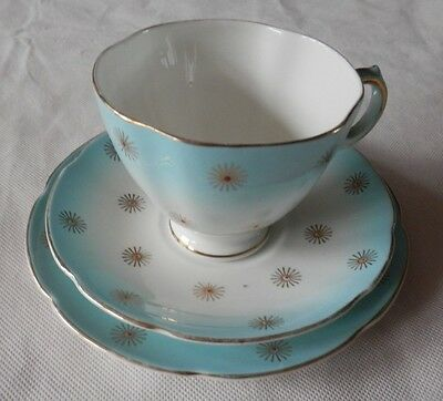 Spencer Stevenson ROYAL STUART Bone China TRIO Tea Cup Saucer and Plate