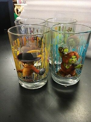 Mcdonald's Collectible Shrek Forever After Glasses