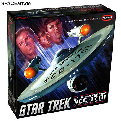 Star Trek: U.S.S. Enterprise NCC-1701 (Giant) | Modell-Bausatz | Polar Lights
