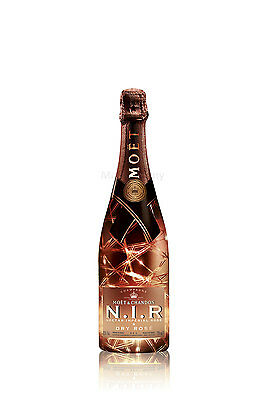 Moet & Chandon N.I.R. Nectar Imperial Dry Rose Luminous Edition 75cl (12% Vol)