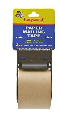 Brown Paper Mailing Tape ~ New
