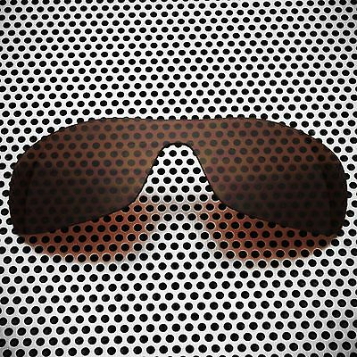 New Volt Polarized Brown Replacement Lenses for Oakley Antix