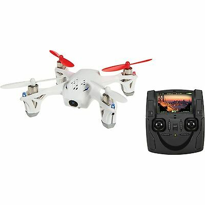 New HUBSAN H107D FPV RC Mini Quadcopter With LCD Transmitter Camera - White
