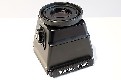 Mamiya Ae Magnifying Hood Metered Prism Chimney Wlf Finder For Rz67 Pro Camera