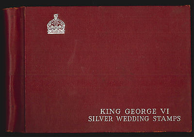 1948 Royal Silver Wedding Omnibus set Lightly Mounted Mint in Special Album