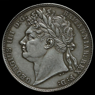 1820 George IV Milled Silver Half Crown – A/UNC