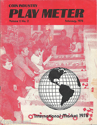PLAY METER - Coin Industry Magazine, Feb. 1976 (Vol.2 No.2)