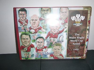 Limited Edition Wales Rugby World Cup Cards 1999 By J Gibbs