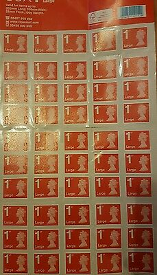 50 x large 1st class stamps