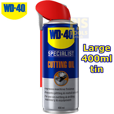 WD40 400ml multi purpose cutting oil spray ** Large can size WD-40 **