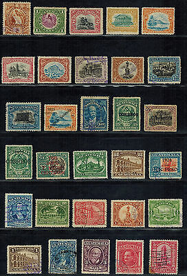 GUATEMALA early Postage, Air Mail, Official, Tax stamps (56) Used (1886-1945)