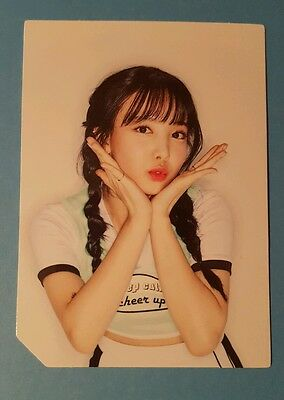 TWICE Page Two Flower PhotoCard Nayeon