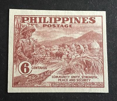 japanese occupation of the Philippines old unused stamp 6 Centavos
