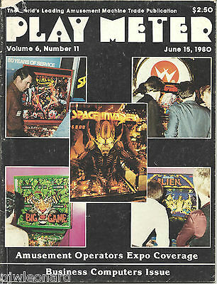 PLAY METER - Coin Industry Magazine, Jun.15 1980 (Vol.6 No.11)