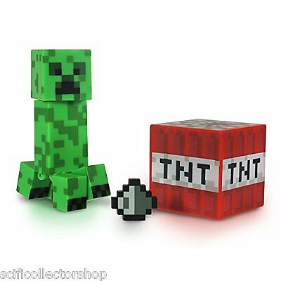 Minecraft Overworld Creeper 3 inch Collectable Series #1 Action Figure - NEW