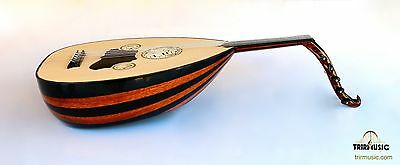 Turkish Professional  Electric Oud Ud String Instrument Aok-211G