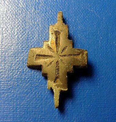 Ancient Bronze Crosses-encolpions. 9th to the mid-13th century.