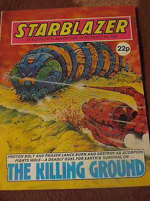 Starblazer Space Fiction Adventure in Pictures No 131 (1984) The Killing Ground