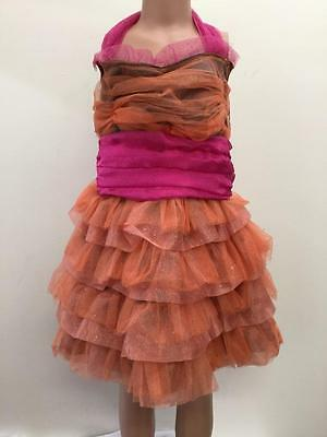 Dance Costume Large Child Dress Pink Character Solo Competition Pageant Glitz