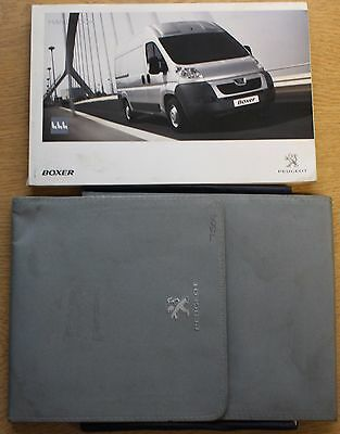 Peugeot Boxer Owners Manual Handbook Wallet Wallet 2006-2016 Pack 12606