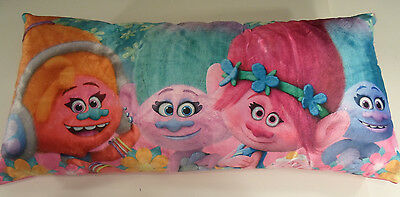 3 FOOT Long Dreamworks Trolls Body Pillow 36 x 18 inch Kids Pink Poppy Troll