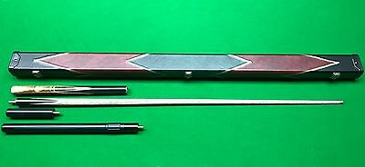 Handmade Snooker Cue And Case Set (1)