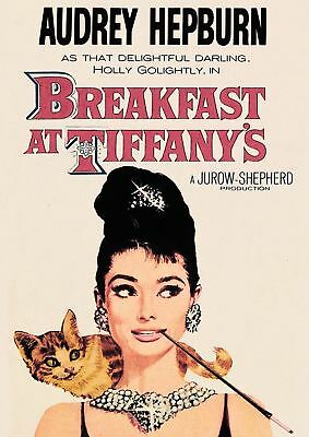 Breakfast At Tiffanys Audrey Hepburn A3 Art Print Poster Yf5092