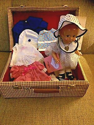 Effanbee Patsy Doll with Trunk & Outfits
