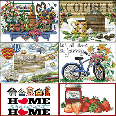 Counted Cross Stitch Kits New Home Decor Animals Gifts 14 Count x Embroidery