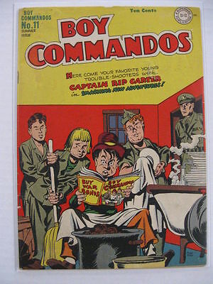 Boy Commandos #11 Vg Simon + Kirby Infinity Cover